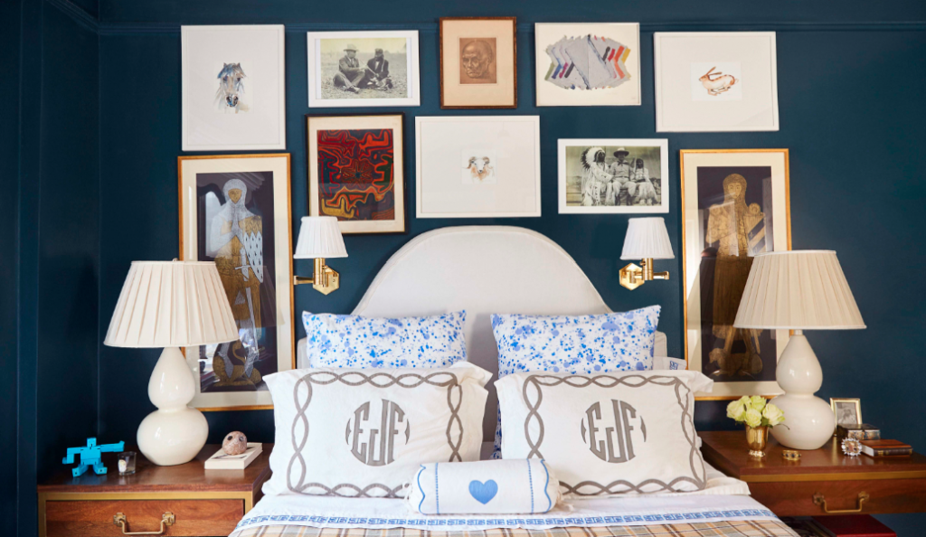 Fleming James, Oliver Street Designs, Gallery Wall